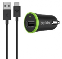 Belkin Car Charger with type-C to USB-A - Click for more info