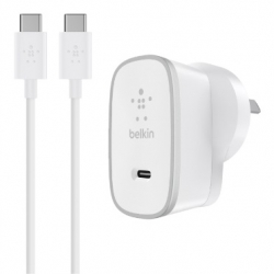 Belkin 15W AC Charger with Type-C Cable - Click for more info