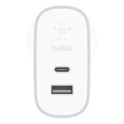 Belkin USB-C & A AC CHARGER,27W+12W,SLV - Click for more info