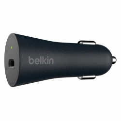 Belkin QC4+27W USB-C Car Charger+Cable-C - Click for more info