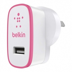 Belkin BOOSTUP 2.4A Home Charger Pink - Click for more info