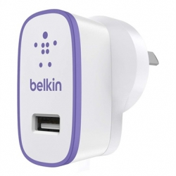 Belkin BOOSTUP 2.4A Home Charger Purple - Click for more info