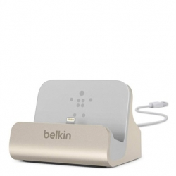 Belkin Charge/Sync Dock Lightning Gold - Click for more info