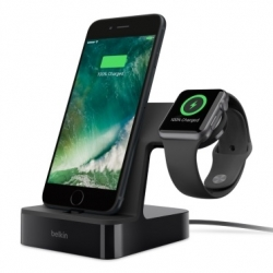 Belkin Charge dock for iWatch&iPhone BLK - Click for more info