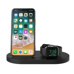 Belkin Wireless Dock iWatch & iPhone BLK - Click for more info