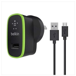 Belkin 2.1a AC charger with Micro Cable - Click for more info