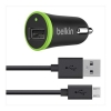 Belkin 2.1A Car USB Charger Micro BK - Click for more info