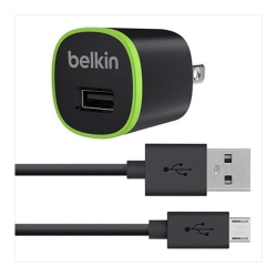Belkin AC Charger with Micro USB Charge - Click for more info