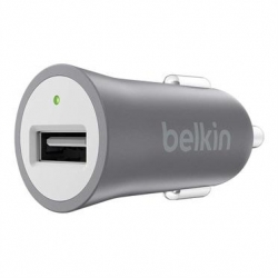 Belkin Metallic Car Charger, Space Grey - Click for more info