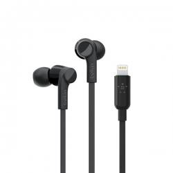 Belkin Lightning Headphone, Black - Click for more info