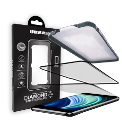 Urban Diamond Glass iP6/7/8/SE Black - Click for more info