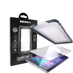 Urban Diamond Glass ScrPro Note2019 BLK - Click for more info