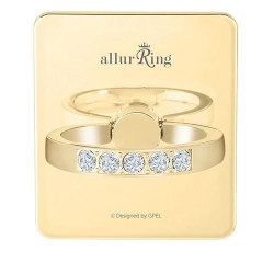 GPEL allurRing Charlotte Light Gold - Click for more info
