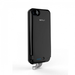 MiLi Charging Case for iPhone5/S/SE Grey - Click for more info