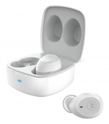 MOTO BUDS100 TWS Ear Bubs White - Click for more info