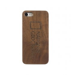 Nat Geo Nature Wood Case iP7/8 Walnut - Click for more info