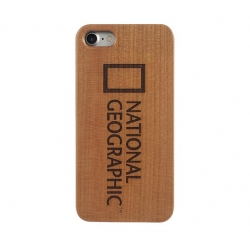 Nat Geo Nature Wood Case iPX Cherry W - Click for more info