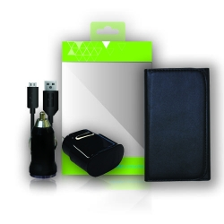 Bundle Charging Pack -Charger and Pouch - Click for more info