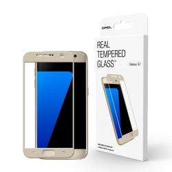 GPEL Glass Scr Pro for GS7 Gold - Click for more info