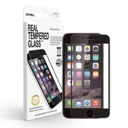 GPEL Glass Scr Pro iP6/6s Plus Black - Click for more info