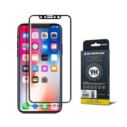 GPEL Glass ScrPro iPhone X Black - Click for more info