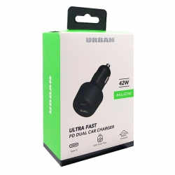 Urban 42W PD Car Charger Adaptor