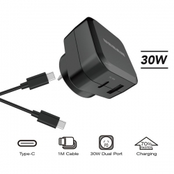 Urban 30W PD AC Charger 1m C Cable - Click for more info