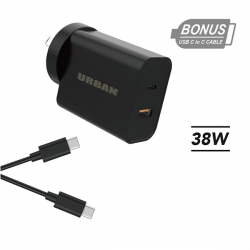 Urban 38W PD AC Charger 1m C Cable - Click for more info