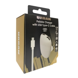 Urban Dual Ac Charger 3.4A Type-C - Click for more info
