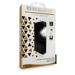 Urban Fitted Wallet Samsung A5 BLK